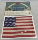 Lot# 188 - Flag with 4 Stars  / Red Cros