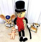 Lot# 230 - Lot of 4 Characters Mr. Peanu