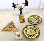 Lot# 232 - Lot of 5 Sports Related items