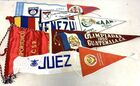 Lot# 236 - Lot of 9 Foreign Pennants