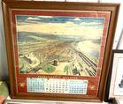 Lot# 272 - PRR Calendar 1957-1958