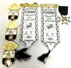 Lot# 294 - Lot of 6 Knights Temle Pins a