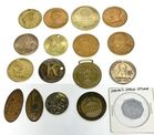 Lot# 305 - Lot of 17 Coins/Tokens Presid