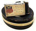Lot# 333 - 1952 Olympics Buckle Men's Le