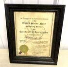 Lot# 356 - U.S. Navy Certificate of Appr