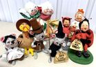 Lot# 416 - Lot of 8 Annalee Animals and