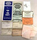 Lot# 258 - Maps /Drivers Lic.1923-25/Adv