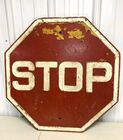 Lot# 493 - Stop Sign As Is