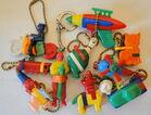Vintage Puzzle Key Chains