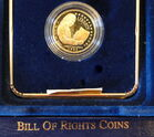 1993 $5 Gold Proof Bill of Rights