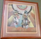 """Navajo Sand Painting - Framed 33 x 33"""""""