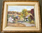 Oil Painting on Canvas Signed J. Parker