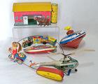 Tin Litho & Wind-Up Toys