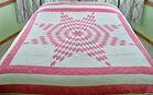 Hand Done Star Design Quilt