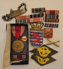 His Pins, Medals, Patches