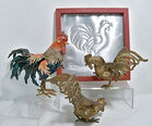 Metal Rooster Decor
