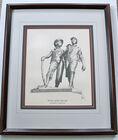 Signed Huck Finn Print
