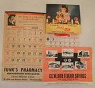 More Vintage Advertising Calendars