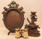 Opera Glasses & Carved Pieces