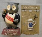 Calvert & Pabst Bar Signs
