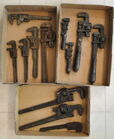 Box Lots of Wrenches