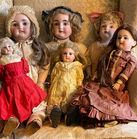 Antique dolls- details below