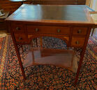 Inlaid writing table