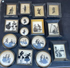 Miniature and silhouette lot