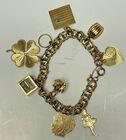 239 14k charm bracelet