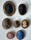 Lot brooches