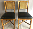 Bamboo style chairs