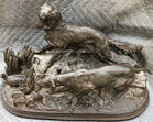 Figure of dogs after Mene